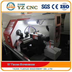 GSK Controller with Bar Feeder CNC Lathe pictures & photos