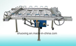Mechanical Silk Screen Stretching Machine with 11years Factory Manufacturer pictures & photos