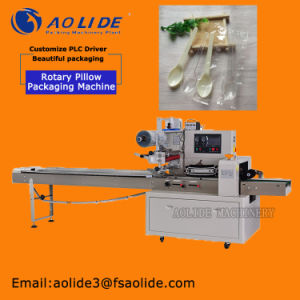Holizontal Stainless Plastic Disposable Spoon Packing Machine pictures & photos