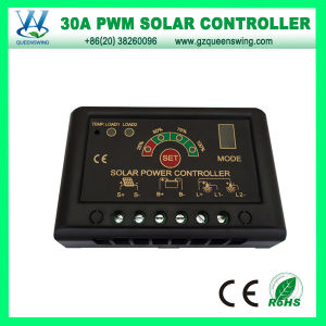 12V/24V 30A Solar Charge Controller with LED Display (QWP-1430JN-S) pictures & photos