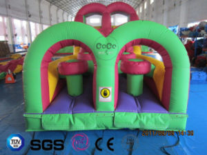 Coco Water Design Inflatable Mcdonald Theme Inflatable Slide Castle LG9064