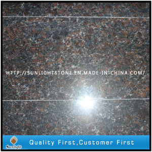 Natural Tan Brown Granite Floor/Wall Tiles for Kitchen & Shower pictures & photos