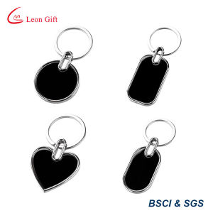 Heart Shape Round Shape Blank Keychain Wholesale for Engraving Logo pictures & photos