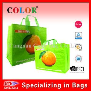 Sedex 4 Pillar Cheap Reusable PP Woven Shopping Bags