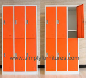 Campus Metal Lockable Storage Wardrobe pictures & photos