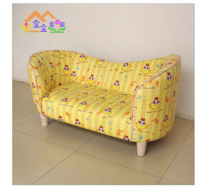 Cartoon Kids Furniture/Leather Sofa for Kids (SXBB-36) pictures & photos
