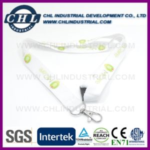 Silkscreen Printed Retractable Neck Lanyards Strap with Company Logo pictures & photos