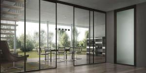 Top Hang Aluminum Sliding Glass Door pictures & photos