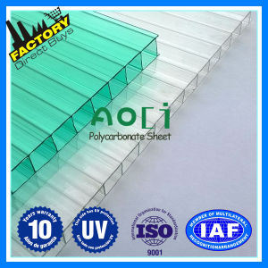 Twin Wall Polycarbonate Sheet Aoci 4mm, 6mm, 18mm pictures & photos