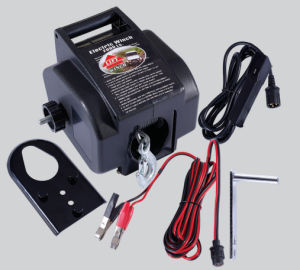 Hot Sell 2000lb Portable Electric Winch Boat Winch pictures & photos