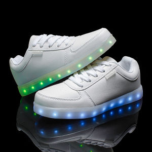 Original LED Shoes Factory Best Quality LED Shoes Men and Women on Sale Popular Unisex LED Shoes pictures & photos