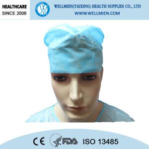 Non Woven Disposable Doctor Surgeon Cap pictures & photos