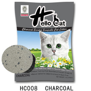 2016 25lbs Bentonite Charcoal Cat Litter Disposal High Quality and Clumping pictures & photos