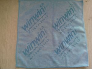 Heavy Kandeler Microfiber Cloth with Lased Logo pictures & photos