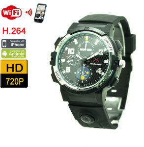 WiFi Watch Cameras Wireless Smart Video Recorder Via APP pictures & photos