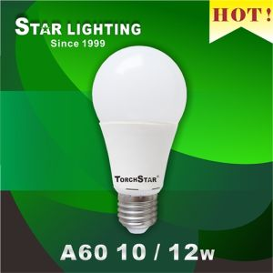 High Lumen 1200lm 12W LED A60 Bulb for Home Use