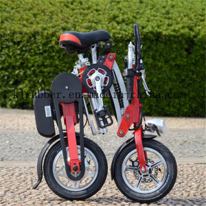 Folding Electric Bicycle with Brushless Motor pictures & photos