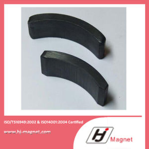Y30 Arc Segment Sintered Hard Ferrite Motor Magnets pictures & photos
