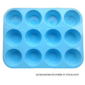 Silicone Cake Mould, 12 Even of Piece pictures & photos
