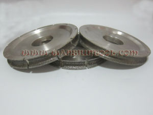 Diamond Electroplated Profiling Wheel for Marble pictures & photos