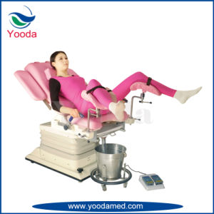 Medical Electric Gynecology Table for Gynecology Examination pictures & photos