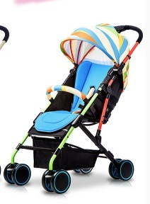 Ultra Light Convenient Sitting and Lying Can Push Baby Carriage pictures & photos