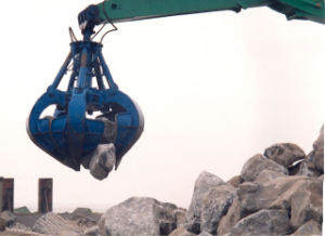 5cbm 8cbm 10cbm16cbm 20cbm Wireless Remote Control Clamshell Grab Bucket for Bulk Material pictures & photos