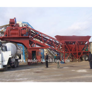 50m3/H Good Quality Automatic Mobile Concrete Mixing Plant / Batching Plant