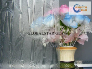 3-6mm Patterned Glass (Nashiji Karatachi Flora Bamboo Moru II Oceanic Glass) pictures & photos