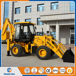 Chinese Big Backhoe Loader with Excavator Bagger pictures & photos