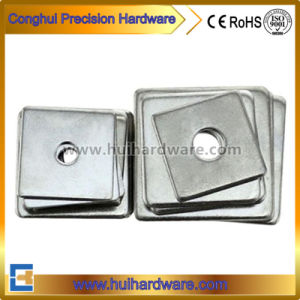 ANSI/DIN Standard Galvanized Square Plate Washers Flat Square Washers pictures & photos