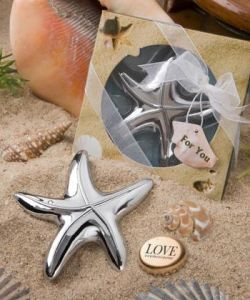 Starfish Design Bottle Opener Favors of Wedding Favors/Wedding Gifts/Party Favors Baby Shower Centerpieces Supplies Giveaway