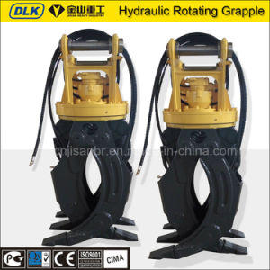 Rotating Type Hydraulic Grapple for 12-16ton Excavator with CE pictures & photos