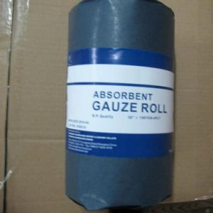 Cotton Medical Absorbent Gauze Roll with Favorable Price pictures & photos