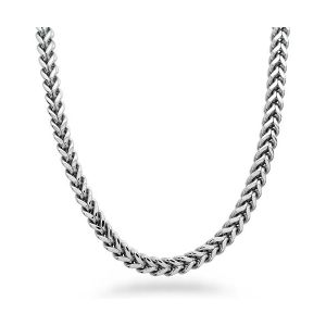 Stainless Steel Square Curb Link Chain Necklace pictures & photos