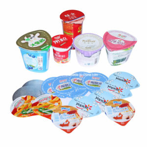 Aluminium Foil Sealing Lids for Yogurt Cups