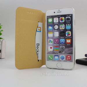 Ultra Thin Slim Leather Case for iPhone 5/6/6s Plus pictures & photos