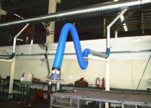 High Efficiency Flexible Extraction Arms for Welding Fume Collection pictures & photos