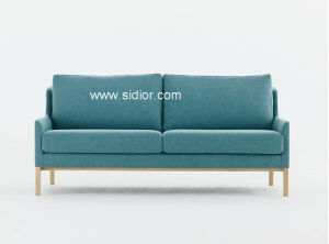 (SD-6004) Modern Design Hotel Living Room Furniture Wooden Leisure Fabric Sofa pictures & photos
