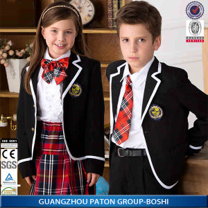 Custom School Blazer for Boys and Girls Whith Shirt pictures & photos