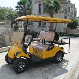 48V Battery Operated 4 Seater Electric Golf Car pictures & photos