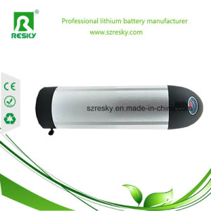 Water Bottle/ Tube 48V 6ah E-Bike Rechargeable Battery Pack