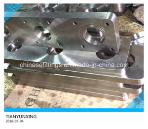 Customized Special Stainless Steel Rectangular Flange pictures & photos