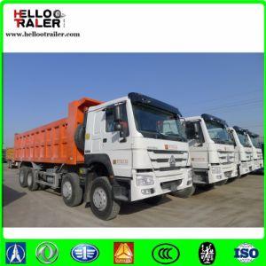 Famous Brand HOWO Diesel 40 Ton Sand 8X4 Tipper Dumptruck pictures & photos