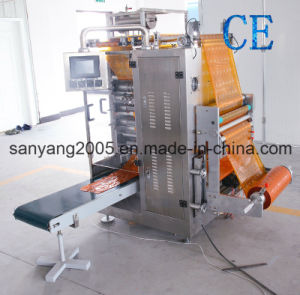 Granule Four-Side Sealing and Multi-Line Packaging Machine pictures & photos