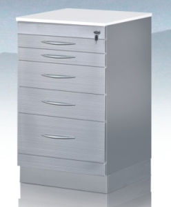 Stainless Steel Dental Cabinet Wth Lock Key pictures & photos