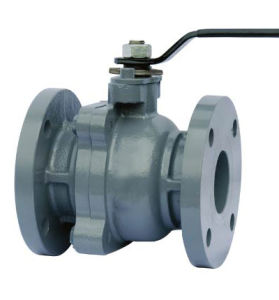 JIS 10K CAST IRON FULL BORE BALL VALVE pictures & photos