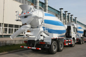 Sinotruk HOWO Brand 6X4 Driving Type Concrete Mixer Truck pictures & photos
