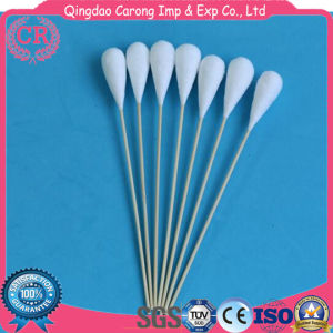 Disposable Medical Stick Cotton Buds Cotton Swabs with CE pictures & photos