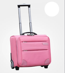 Pink Color Trolley Luggage Bag for Traveling (ST6237C) pictures & photos